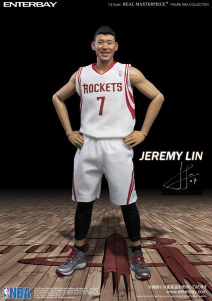 1/6 リアルマスターピース コレクティブル フィギュア/ NBAコレクション: ジェレミー・リン[エンターベイ]《在庫切れ》