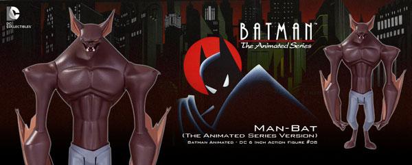 バットマン アニメイテッド 6インチ #08 マンバット(ザ・アニメイテッド・シリーズ版)