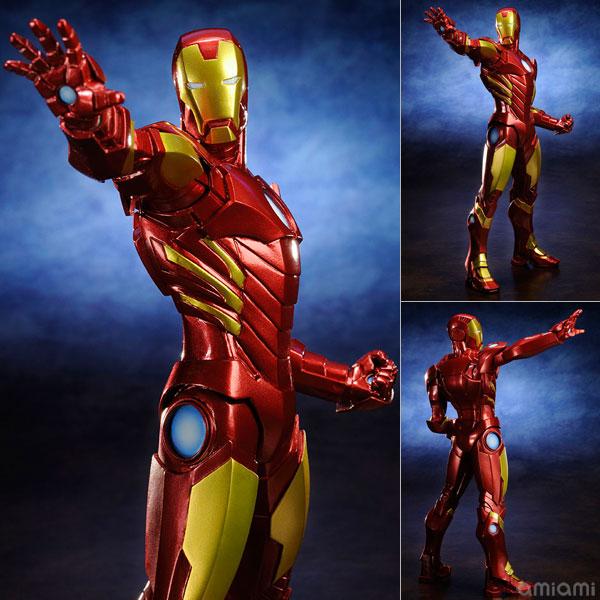 ARTFX+ アイアンマン MARVEL NOW! 【RED × GOLD】 1/10 PVC塗装済み簡易組立キット