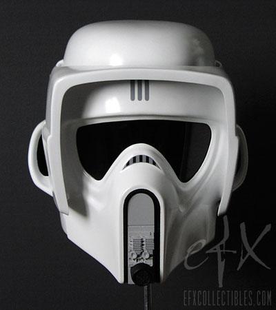 スターウォーズ 1/1スケールプロップレプリカ バイカー・スカウト ヘルメット[eFX]《在庫切れ》