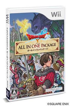 Wii ドラゴンクエストXオールインワンパッケージ(ゲーム内で使用できるアイテムコード 付)[スクウェア・エニックス]《在庫切れ》