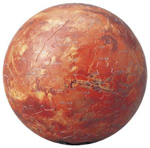 ジグソーパズル 3D球体 天体シリーズ 火星儀-THE MARS- 60ピース(2003-421)[やのまん]《在庫切れ》