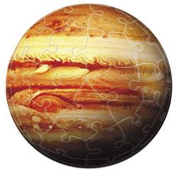 ジグソーパズル 3D球体 天体シリーズ 木星儀-THE JUPITER- 60ピース(2003-424)[やのまん]《取り寄せ※暫定》