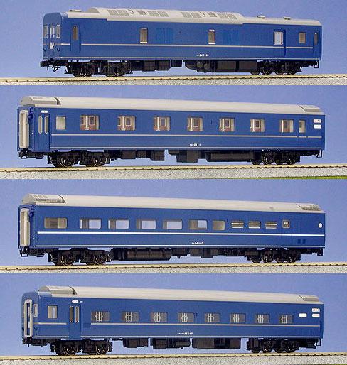 3-510 (HO)24系25形寝台特急客車基本(4両)(再販)[KATO]【送料無料】《在庫切れ》