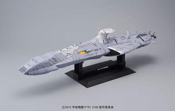 宇宙戦艦ヤマト2199 1/1000 大ガミラス帝国軍 ゼルグート級一等航宙戦闘艦〈ドメラーズIII世〉 プラモデル