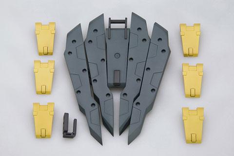 M.S.G モデリングサポートグッズ ウェポンユニットMW19R フリースタイル・シールド(再販)[コトブキヤ]《発売済・在庫品》