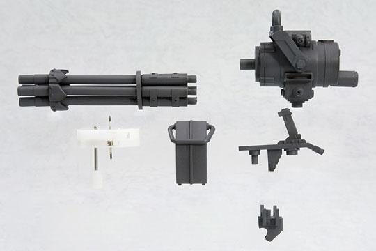 M.S.G モデリングサポートグッズ ウェポンユニットMW20R ガトリングガン(再販)[コトブキヤ]《09月予約》