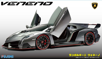 1/24 リアルスポーツカーシリーズ No.30 ランボルギーニ ヴェネーノ DX プラモデル(再販)[フジミ模型]《在庫切れ》