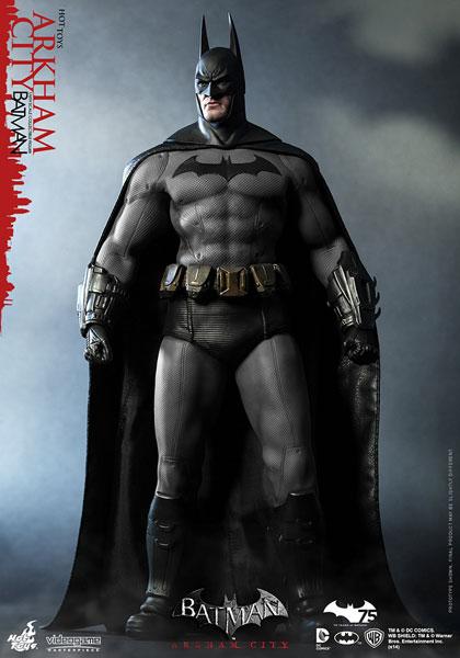 ビデオゲーム・マスターピース バットマン:アーカム・シティ 1/6スケールフィギュア バットマン[ホットトイズ]《在庫切れ》