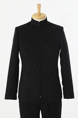 ノンキャラ 学生服(黒/ファスナー仕様) Mサイズ[ACOS]《在庫切れ》