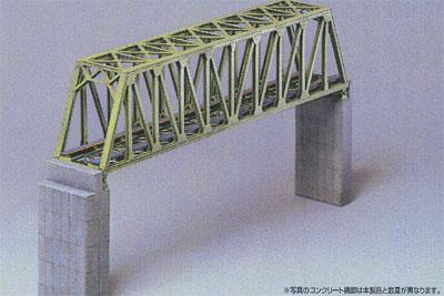 2135 未塗装ストラクチャーキット トラス鉄橋(再販)[グリーンマックス]《11月予約》