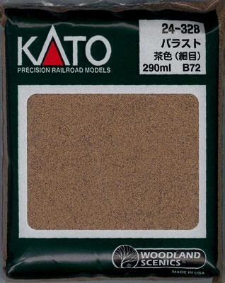 24-328 ウッドランド バラスト 茶色(B72)【価格改定版】(再販)[KATO]《在庫切れ》
