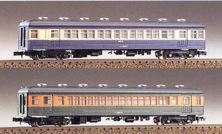 174 未塗装エコノミー組立キット サロ45+サハ48形2両(再販)[グリーンマックス]《08月予約》