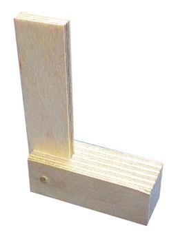 職人堅気 木製スコヤ エル棒(再販)[シモムラアレック]《取り寄せ※暫定》