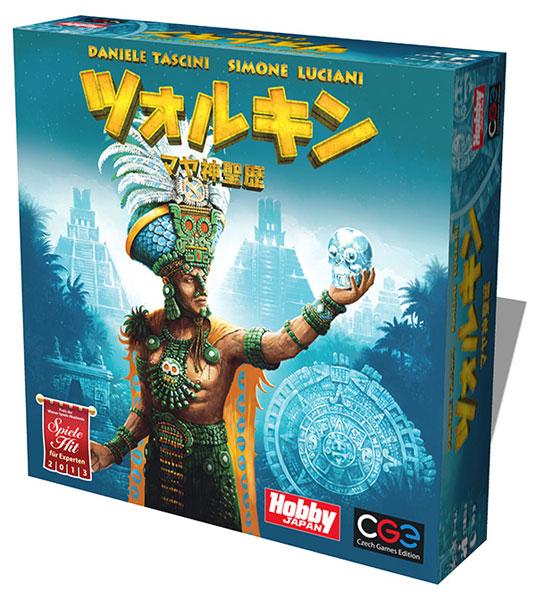 ボードゲーム ツォルキン:マヤ神聖歴 日本語版(再販)[CZECH GAMES EDITION]《発売済・在庫品》