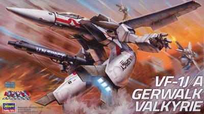 超時空要塞マクロス 1/72 VF-1J/A ガウォーク バルキリー プラモデル(再販)[ハセガワ]《09月予約》