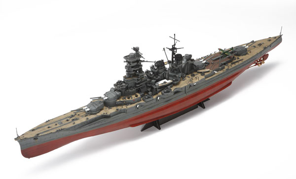 1/350 アイアンクラッド〈鋼鉄艦〉 日本海軍戦艦金剛リテイク プラモデル(再販)[アオシマ]《在庫切れ》