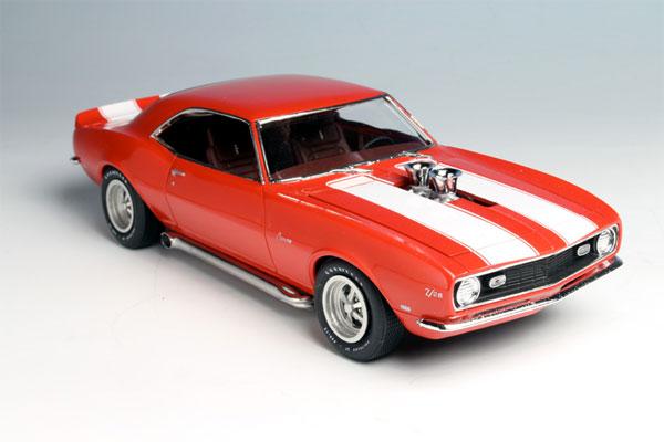 1/25 1968 シボレー カマロ Z/28 プラモデル(再販)[AMT]《在庫切れ》
