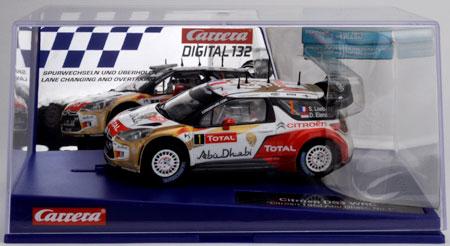 Carerra Digital132 シトロエン DS3 WRC Abu Dhabi No.1[京商]《取り寄せ※暫定》