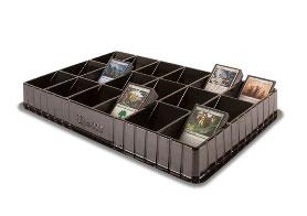 トレーディングカード/カードゲーム・ソート用トレイ(18スロット)[Ultra・PRO]《在庫切れ》