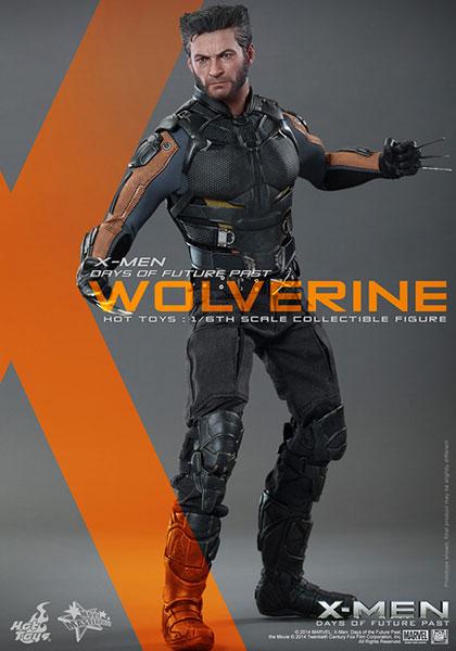 ムービー・マスターピース X-MEN:フューチャー&パスト 1/6スケールフィギュア ウルヴァリン[ホットトイズ]《在庫切れ》