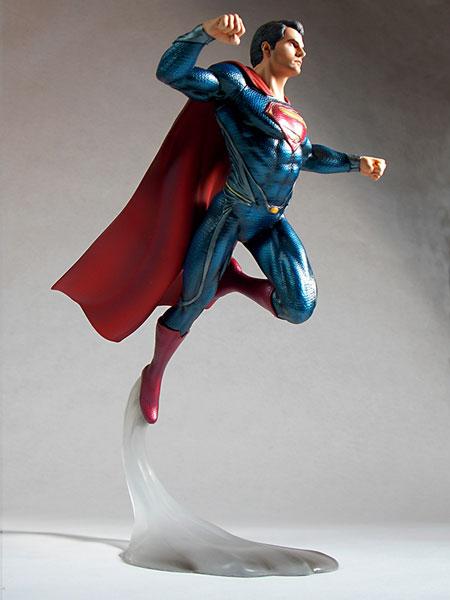 マン・オブ・スティール 1/8 スーパーマン(スタチュー)[メビウスモデル]《在庫切れ》