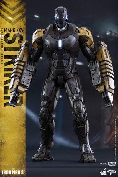 ムービー・マスターピース アイアンマン3 1/6スケールフィギュア アイアンマン・マーク25(ストライカー)[ホットトイズ]【送料無料】《在庫切れ》
