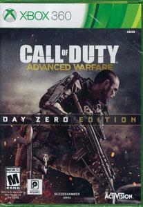 Xbox 360 【アジア版】Call of Duty Advanced Warfare Day Zero Edition《在庫切れ》