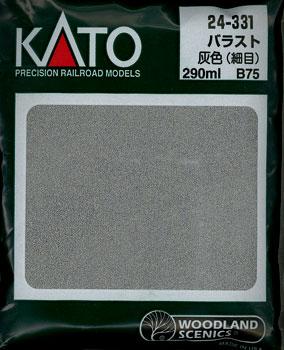 24-331 ウッドランド バラスト 灰色(B75)【価格改定版】(再販)[KATO]《在庫切れ》