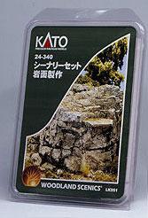 24-340 ウッドランド シーナリーセット 岩面製作【価格改定版】(再販)[KATO]《在庫切れ》