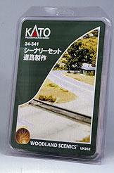 24-341 ウッドランド シーナリーセット 道路製作【価格改定版】(再販)[KATO]《在庫切れ》
