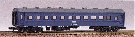 120 未塗装 客車キット スハ43(再販)[グリーンマックス]《06月予約》