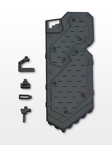 M.S.G モデリングサポートグッズ ウェポンユニット MW10 シールド (リニューアル再生産)