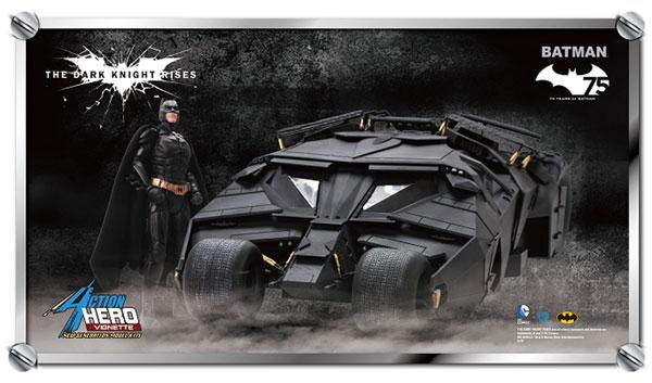1/9 ダークナイト ライジング バットマン&タンブラー(バットモービル) 塗装済みキット[ドラゴンモデル]【送料無料】《在庫切れ》