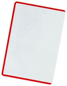 トレーディングカード・アーケードカード用 クリアカードローダー(レッド) パック[アンサー]《在庫切れ》