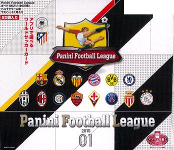パニーニ フットボール リーグ 2015 ウエハース 01 20個入りBOX(食玩)[バンダイ]《在庫切れ》