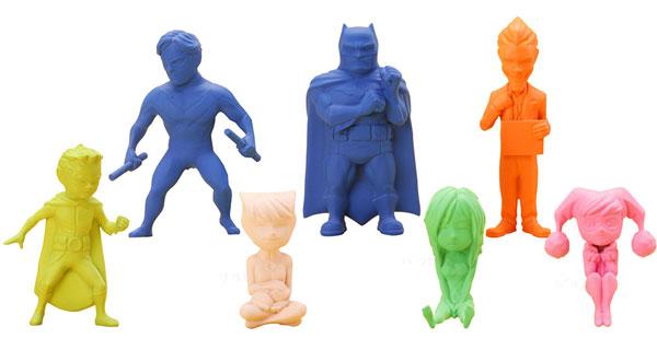 バットマン:リル・ゴッサムミニフィギュア 12パック入りBOX[コトブキヤ]《在庫切れ》