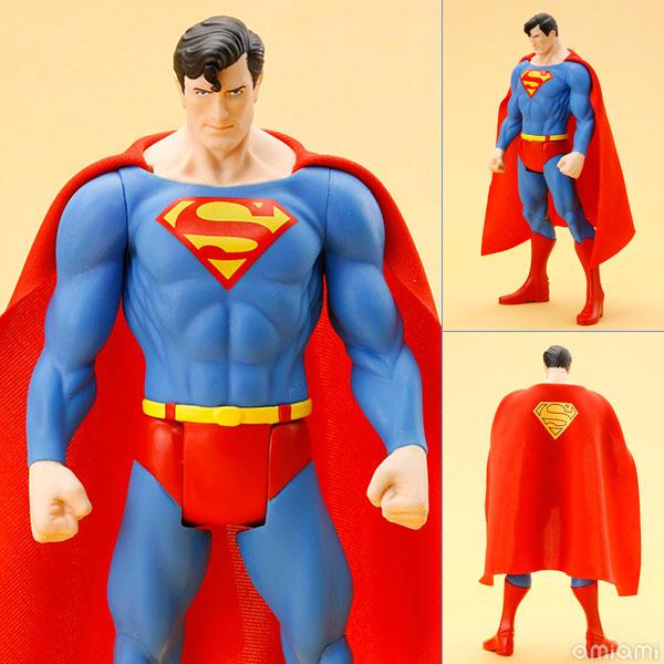 DC UNIVERSE ARTFX+ スーパーマン スーパーパワーズ クラシックス 1/10 完成品フィギュア[コトブキヤ]《在庫切れ》