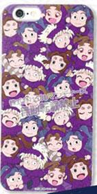 忍たま乱太郎 iPhone6対応シェルジャケット 四年生(NNT-01B)[グルマンディーズ]《在庫切れ》