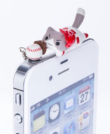 飛びつき野球にゃんこ(広島)[ピンクカンパニー]《在庫切れ》