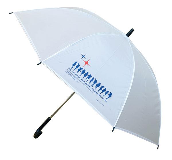 劇場版「THE IDOLM@STER MOVIE 輝きの向こう側へ!」ビニール傘(乳白色/60cm)[あみあみ]《在庫切れ》