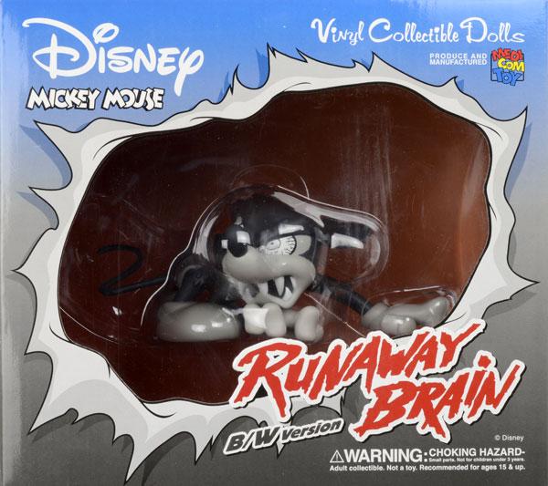 ヴァイナルコレクティブルドール No.85 ミッキーマウス(ランナウェイブレイン) B/W Ver.