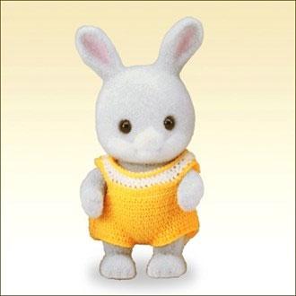 シルバニアファミリー ウ-88 わたウサギの赤ちゃん[エポック]《在庫切れ》