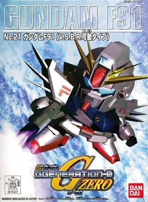 SDガンダム G-GENERATION No.21 ガンダムF91 プラモデル