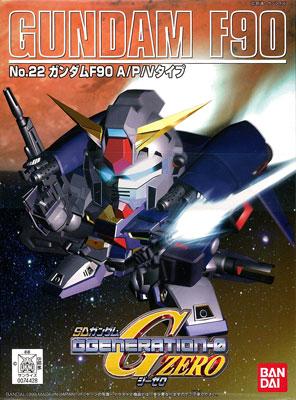 SDガンダム G-GENERATION No.22 ガンダムF90 プラモデル