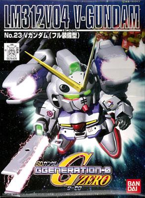 SDガンダム G-GENERATION No.23 Vガンダム(フル装備型) プラモデル