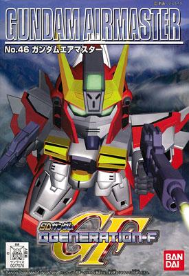 SDガンダム G-GENERATION No.46 ガンダムエアマスター プラモデル