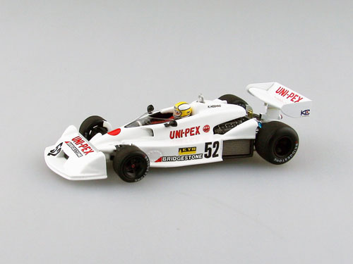 1/43 Kojima F1 KE009 1977 Japan GP Hoshino WHITE[EBBRO]《取り寄せ※暫定》