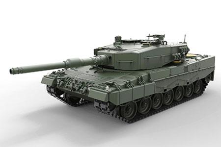 1/35 ドイツ主力戦車 レオパルト 2A4 プラモデル[MENG Model]《取り寄せ※暫定》