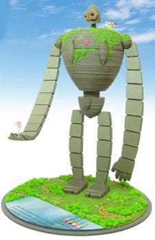 みにちゅあーとキット スタジオジブリシリーズ 1/30 ロボット兵(園丁タイプ)〔MK07-20〕[さんけい]《在庫切れ》